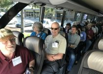Around 50 of the participants joined the tour to Troutlodge's Trout Springs facility and to Cooke Aquaculture's Scatter Creek facility on the last day of the conference. (Credit: Liza Mayer, ANA)